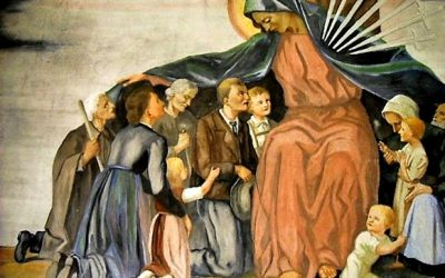October reflection for Marist Laity – Mary in the Midst of Chaos